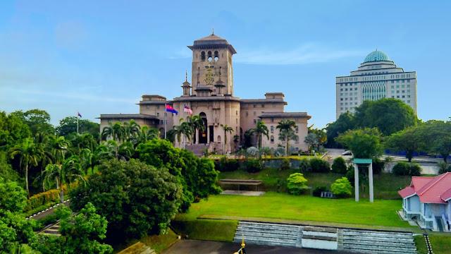 Bangunan Sultan Ibrahim - Bukit Timbalan, Johor Bahru