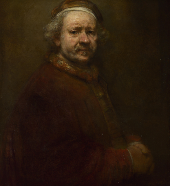 Rembrandt van Rijn, Self-Portrait at the Age of 63 (1669)