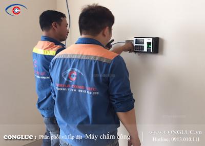 công ty lắp máy chấm công chuyên nghiệp tại Hải Phòng