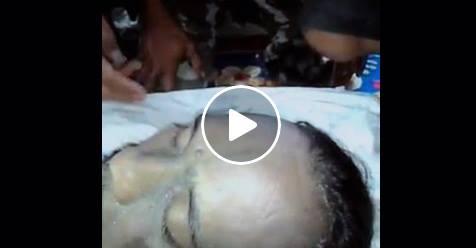 Video Jenazah Santoso Berkeringat Membuat Heboh Netizen, Mati Syahid?