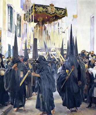 Los nazarenos. Sevilla - 1914 - Joaquin Sorolla y Bastida - Hispanic Society of America