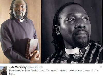 Homosexuals love the Lord – Pst Jide Macaulay