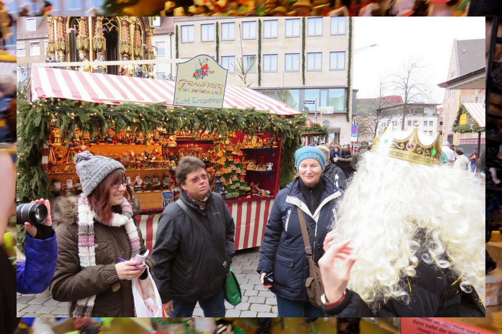 Nuremberg Christmas Market - Inspecting the Christkind of the Day