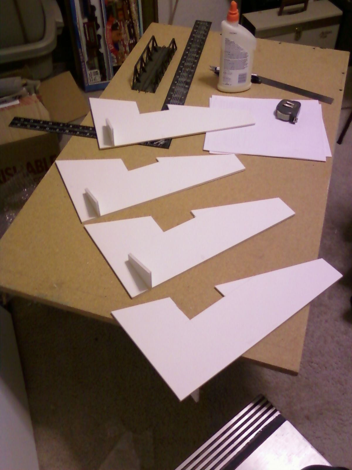 Armchair Modeling Building A Diorama Part 1a Foam