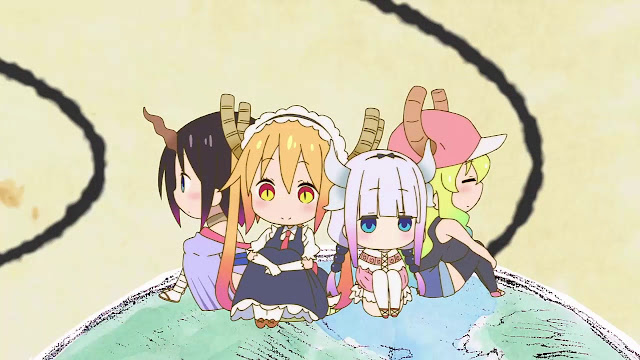 Kobayashi chi no Maid Dragon BD Episode 1-13+OVA Subtitle Indonesia