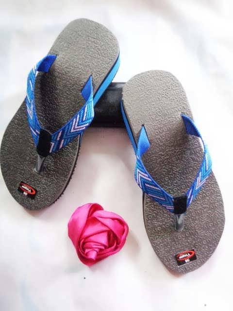 Grosir Sandal Wedges Super - Wedges Karet WHY
