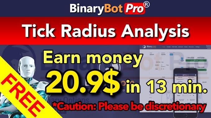 Tick Radius Analysis | Binary Bot Pro