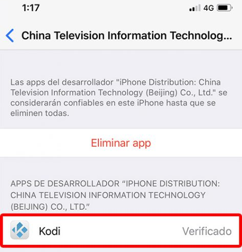 Cómo Instalar Kodi en iOS [iPhone, iPad y iPod Touch] sin Jailbreak