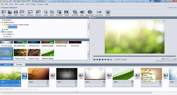 Download Proshow Gold - Phần mềm tạo và chỉnh sửa video từ ảnh miễn phí b