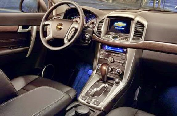 suv cars novo Chevrolet captiva 2015