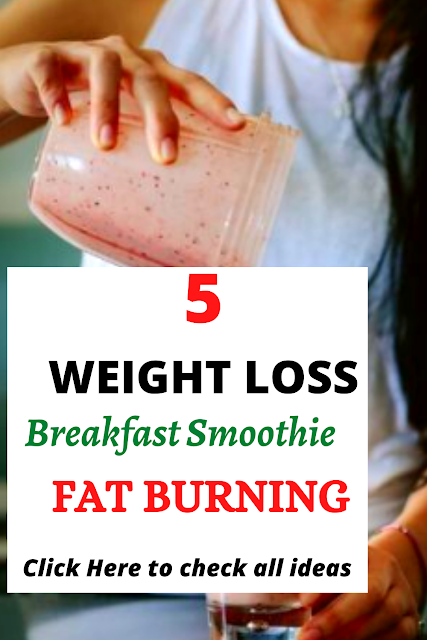 breakfast smoothie recipes for weight loss fast