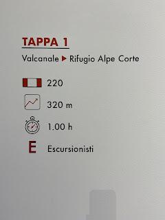 First leg of Sentiero delle Orobie - Tito Terzi Exhibit