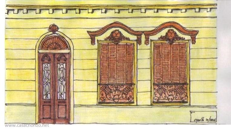 Casa Chorizo arte