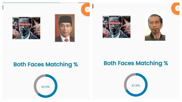 Pakai Cara Ini, Roy Suryo Sebut Kemiripan Jokowi dengan Mural 404 Not Found Tak Sampai 70 Persen