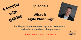 5 Minutes w NYIke: What is Agile Planning