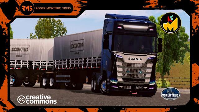 Scania S World Truck Driving Simulator