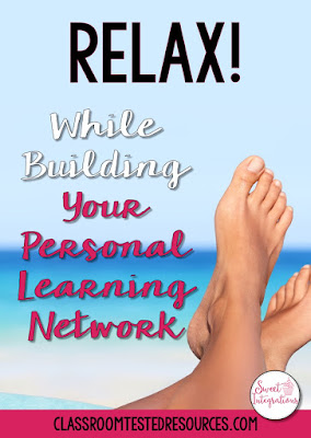 Have you begun making your summer plans? You can build your personal learning network while still relaxing. In this post, I have some tips that will help you continue learning and having fun.