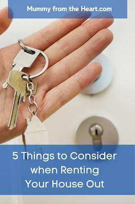 Renting considerations pin