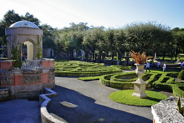 Belezas na Villa Vizcaya Museum and Gardens em Miami