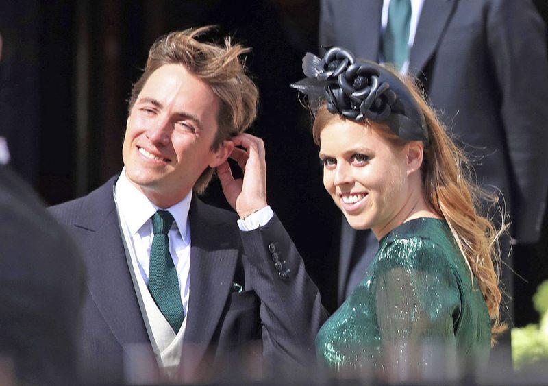 Princesa Beatriz se casa con su novio italiano en sorpresiva ceremonia