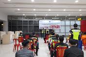 Bandara Sam Ratulangi Edukasi Mitra Usaha Dalam Pencegahan Kebakaran dan Evakuasi