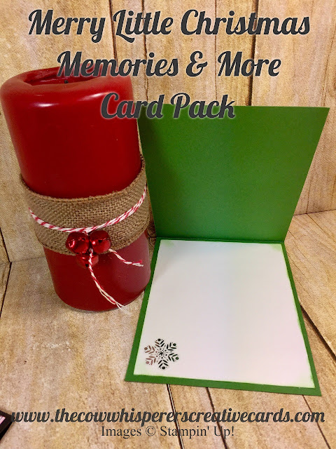 Merry Little Christmas Memories & More Card Pack, Merry Christmas, Card Pack, Memories & More, Card, Stampin Up