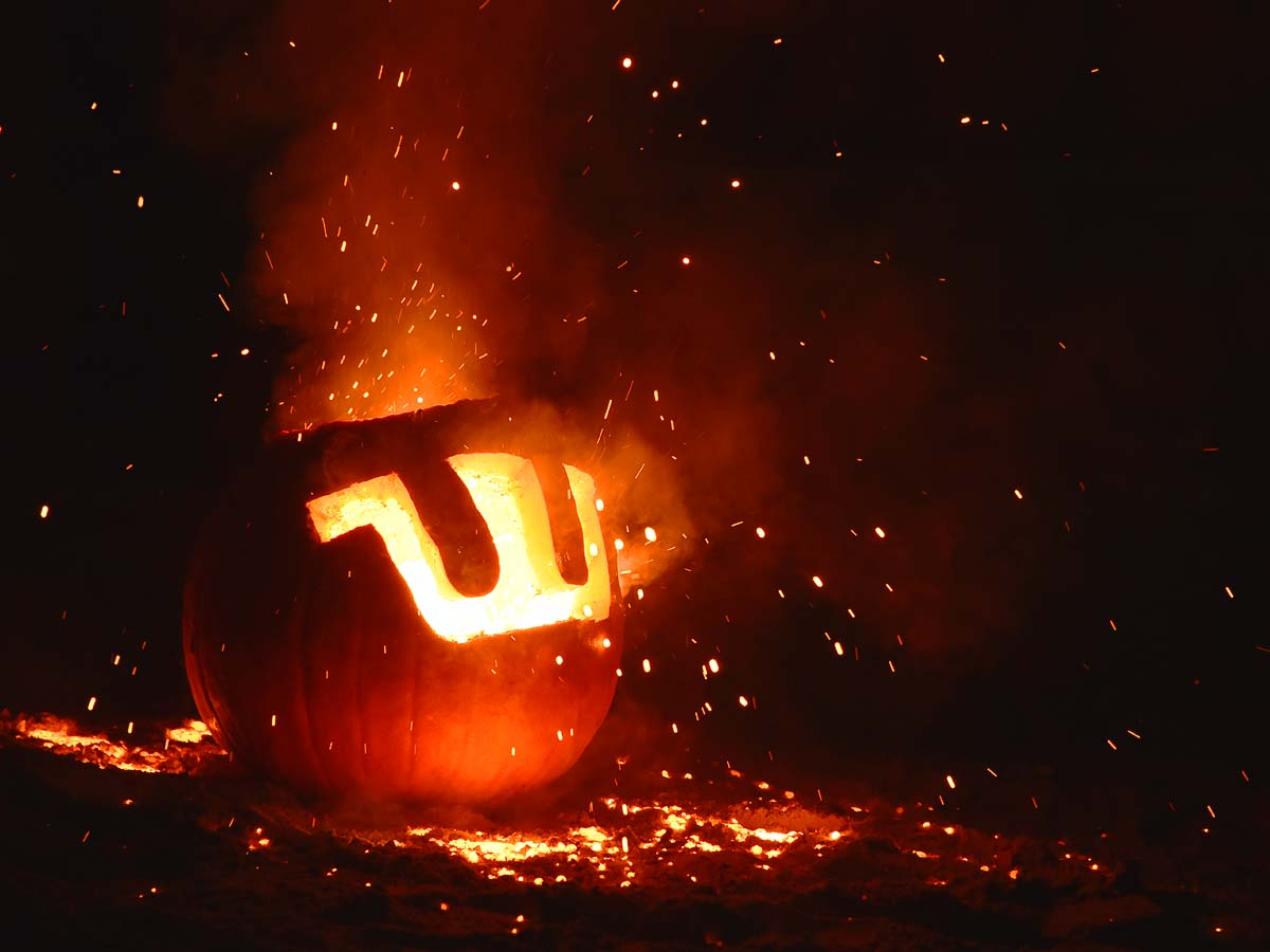 Waupaca Pumpking at UW Platteville Pumpkin Pour