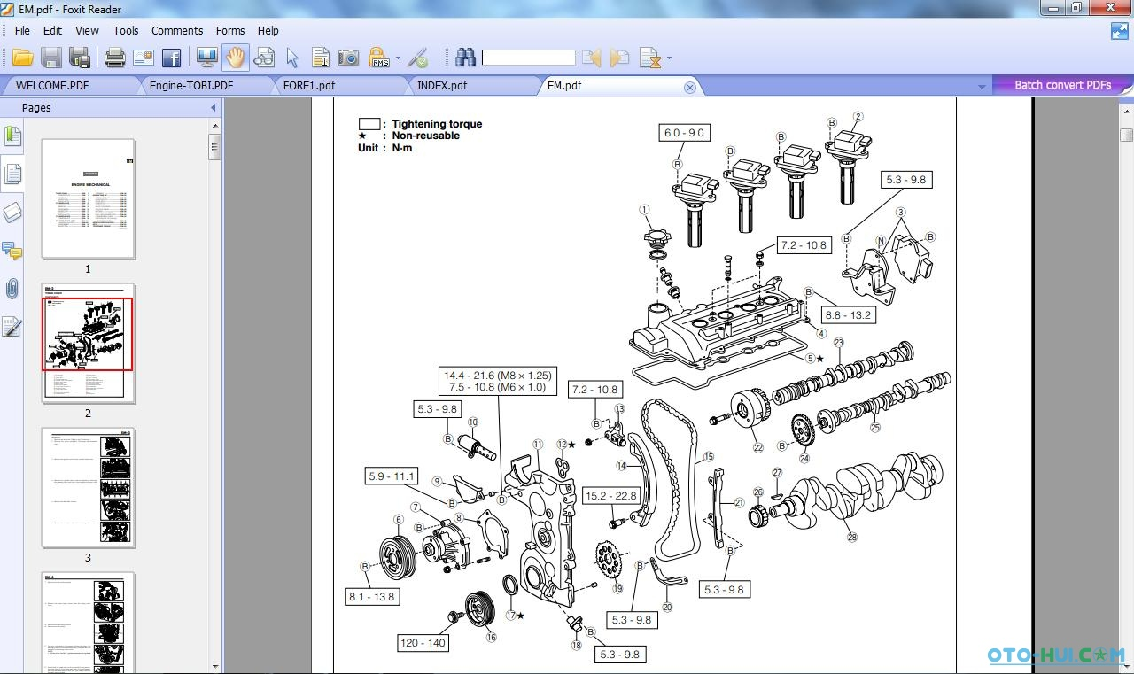 Daihatsuwiringdiagramservicemanualtcurry  Calidad Y