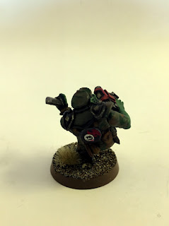 2nd Edition Orks - Bloodaxe Madboy 2 - Back