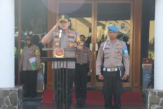 20 Taruna Dan Taruni Akpol Tk III Angkatan 51 Ikuti Latihan Kerja Di Polres Cirebon Kota