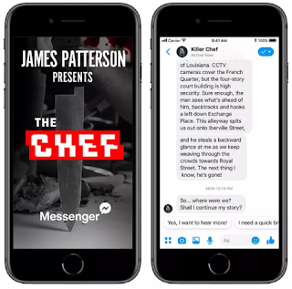 New Adventures, James Patterson, James Patterson novel, on Facebook, Facebook, on Facebook Messenger, massenger, facebook tech news, tech, tech news, latest tech news, the chef, chef, Electronic books, audio books,