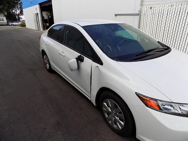 2013 Honda Civic before collision repairs at Almost Everything Auto Body.