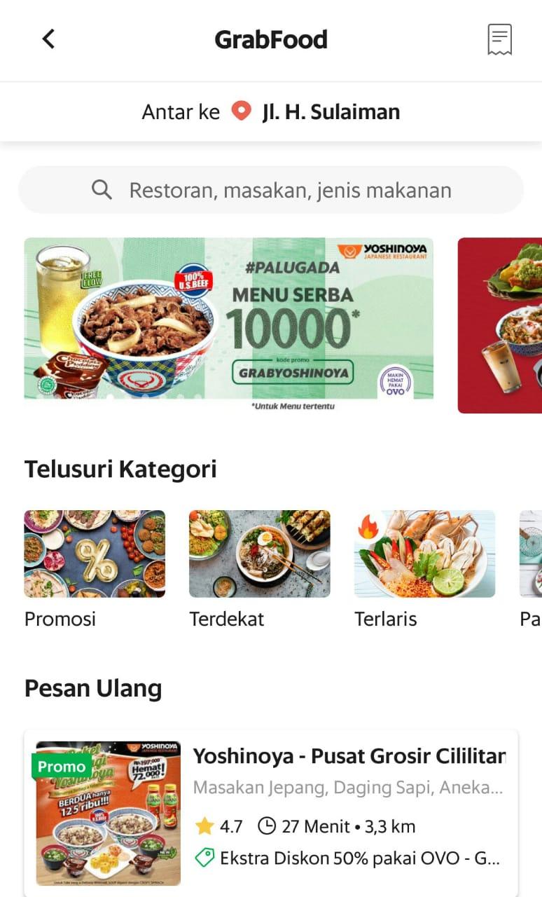 Jajan Hemat Serba 10 000 Di Grabfood Liswanti Pertiwi