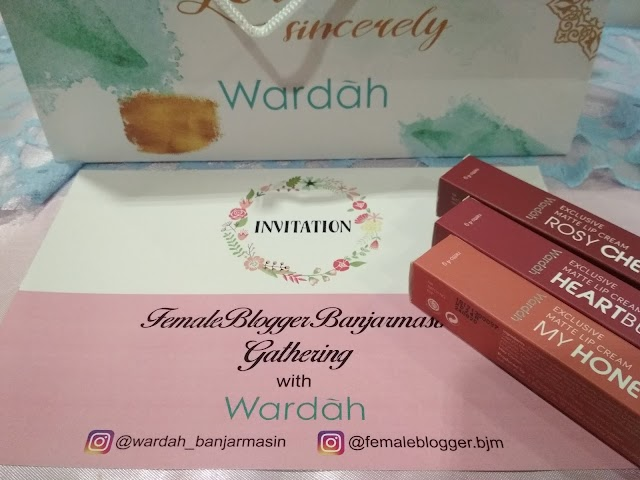 [Review] Wardah Exclusive Matte Lipcream No. 14, 16 & 17