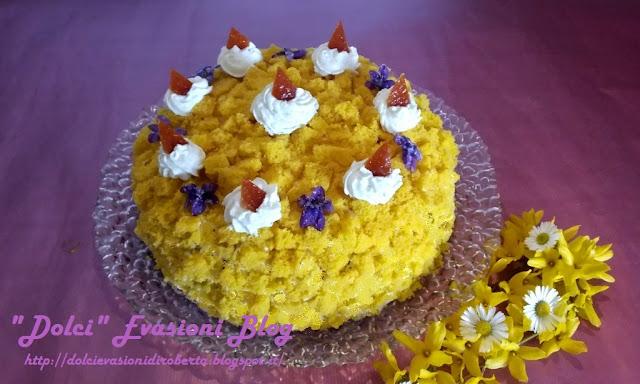 Torta mimosa Festa della donna - Dolci di Pasqua - Dolci Primavera