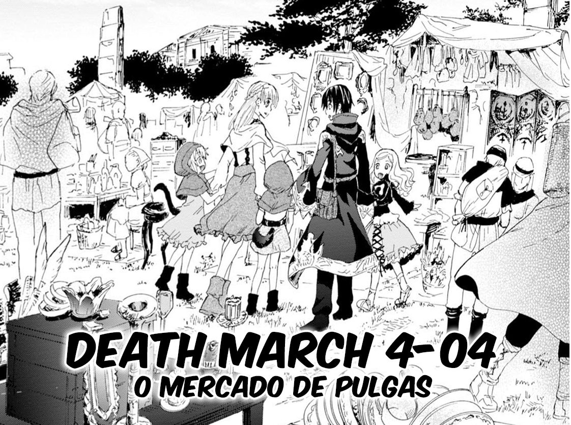 Death March Kara Hajimaru Isekai Kyousoukyoku / Death March To The Parallel World Rhapsody Ilustração Web Novel Capáitulo 4-03 Satou Pendragon, Tachibana Arisa, Zena Marientail, Tama e Pochi