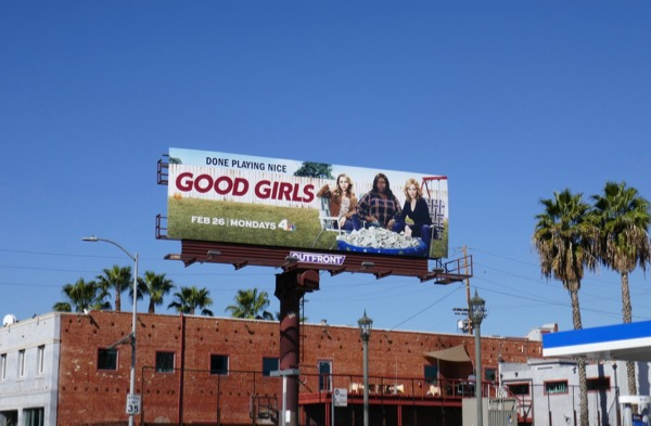 Good Girls TV series billboard