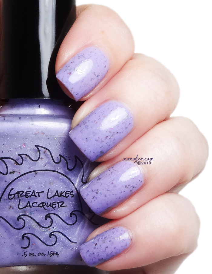 xoxoJen's swatch of Great Lakes Lacquer Stop. Stepping. On. My. Hyacinths.