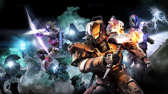 Destiny 2, Beyond the Light other battle scene snapshot