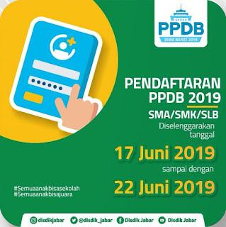 PPDB SMA Kota Bandung 2019