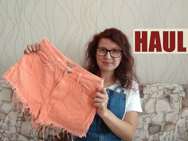haul zakupowy, haul ciuchowy, ciuchy, spodnie, spodenki, szorty, cropp modo