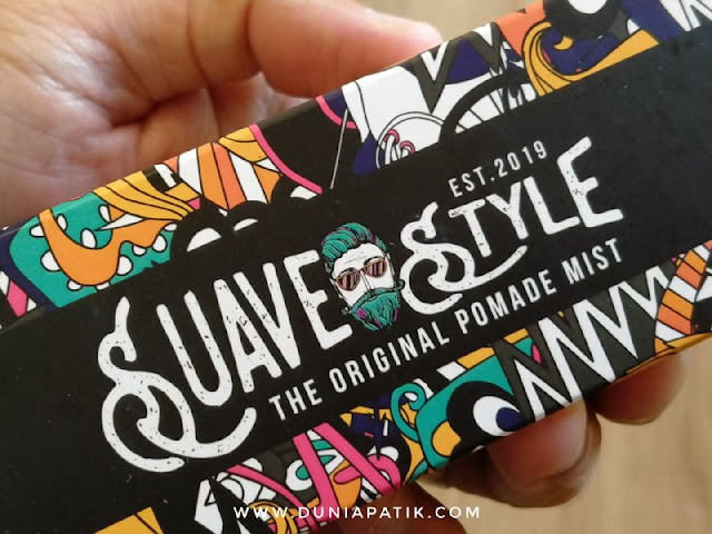Suave Style The Original Pomade Mist