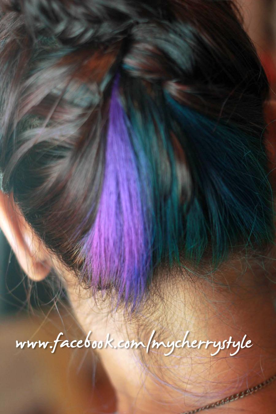 My Cherry Style My New Peacock Hair Braiding Madness