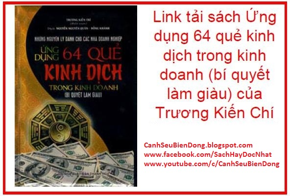 64 quẻ kinh dịch trong kinh doanh, bí quyết làm giàu