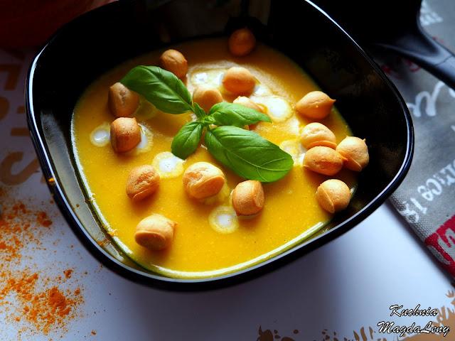 Zupa typu krem z dyni