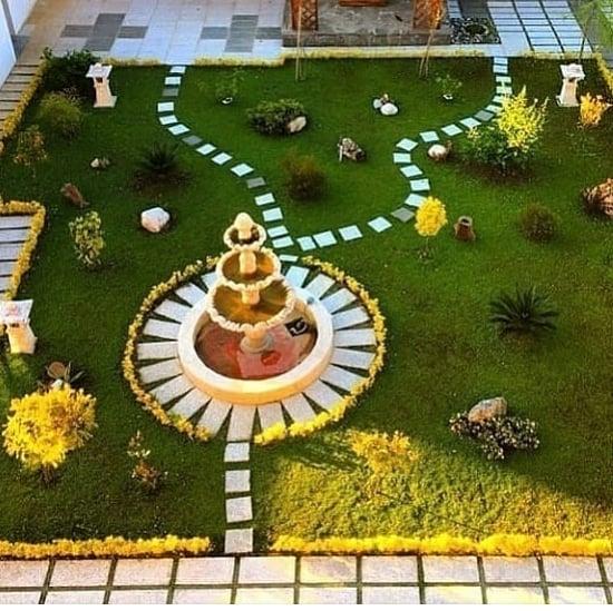 شركة تنسيق وعمل ديكورات الحدائق بالباحة