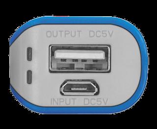 powerbank caricabatterie portatile trust
