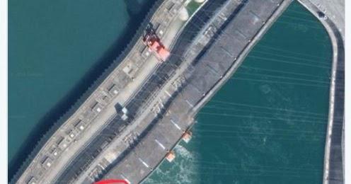 中國茉莉花革命: 三峽大壩的確變形了!新京報從否認到承認