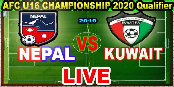 Nepal vs Kuwait live