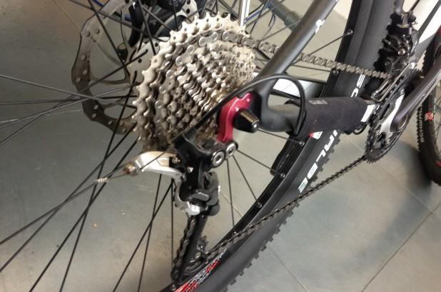 mountain bike gearing system